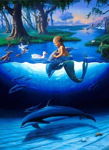 Джим Уоррен. Маленькая русалка.
