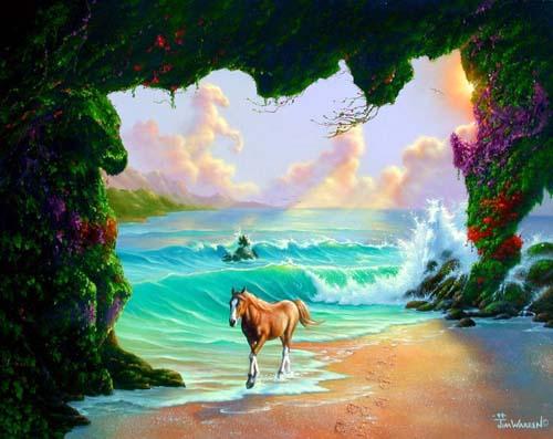 Джим Уоррен. Семь лошадей.