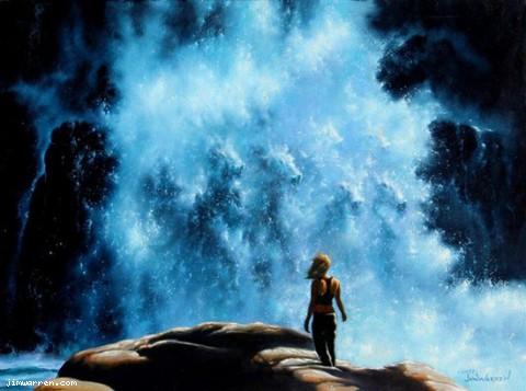 Джим Уоррен. Волшебный водопад.